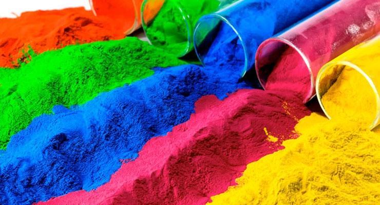 Пигменты определяют цвет лакокрасочного покрытия