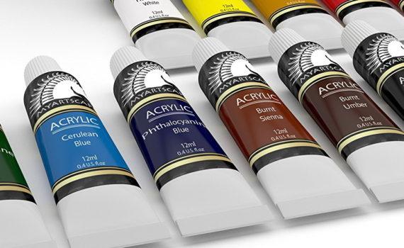 Акриловая краска состав химический