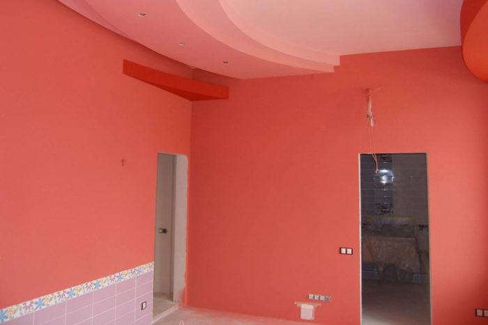 Водоэмульсионная краска для внутренних работ